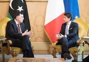 Libia, Conte incontra al Sarraj