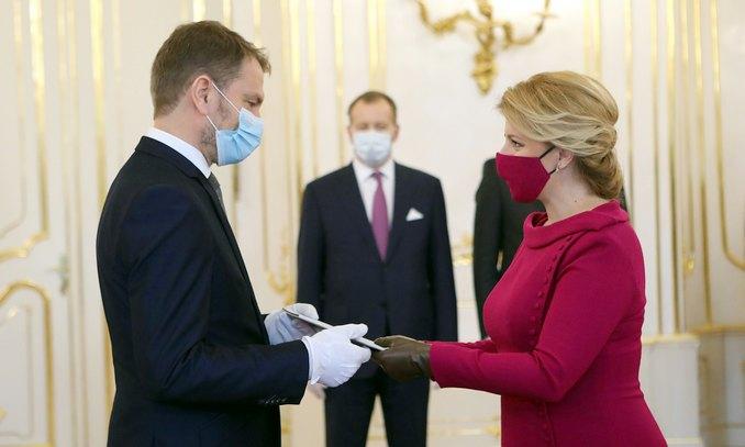 Slovacchia, si insedia il governo Matovic