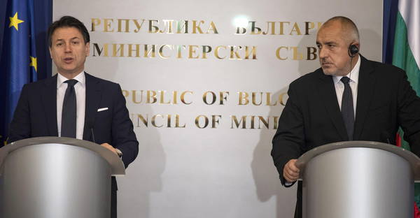 Vertice Italia - Bulgaria
