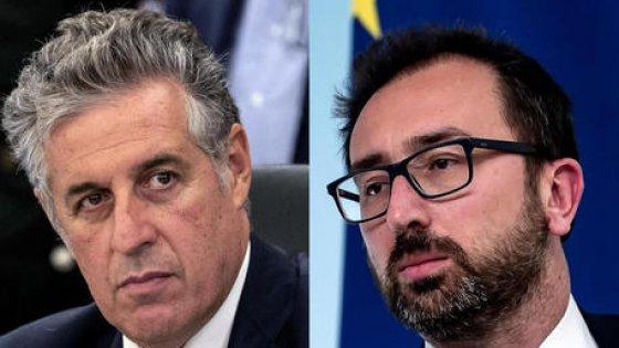 """Carceri, Di Matteo accusa Bonafede: """"Mia nomina a Dap avrebbe scontentato i mafiosi""""."""