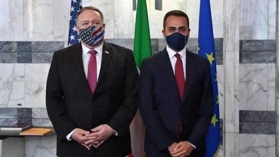 Mike Pompeo e Luigi Di Maio