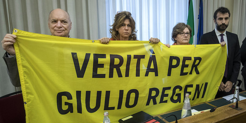 I genitori di Giulio Regeni hanno denunciato il governo italiano