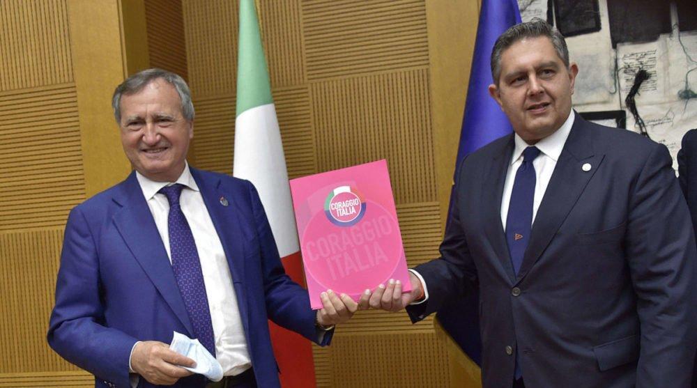 Nasce Coraggio Italia alla Camera. All'Interno Cambiamo! e fuoriusciti di Forza Italia
