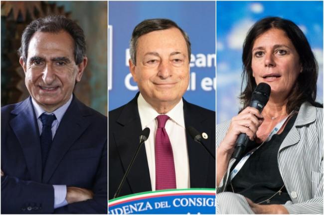Rai, Draghi sceglie due nomi lontani dai partiti: Carlo Fuortes e Marinella Soldi per il Cda