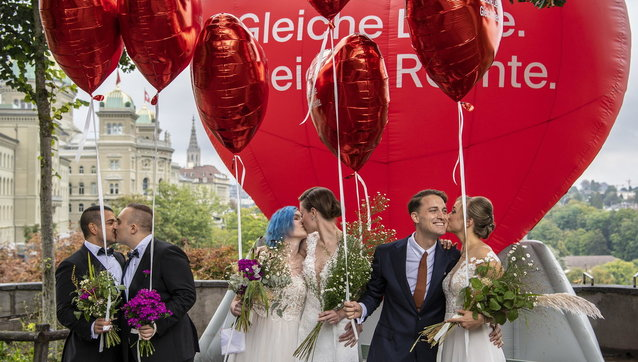 Svizzera, referendum matrimoni lgbt vincono al 64% i si