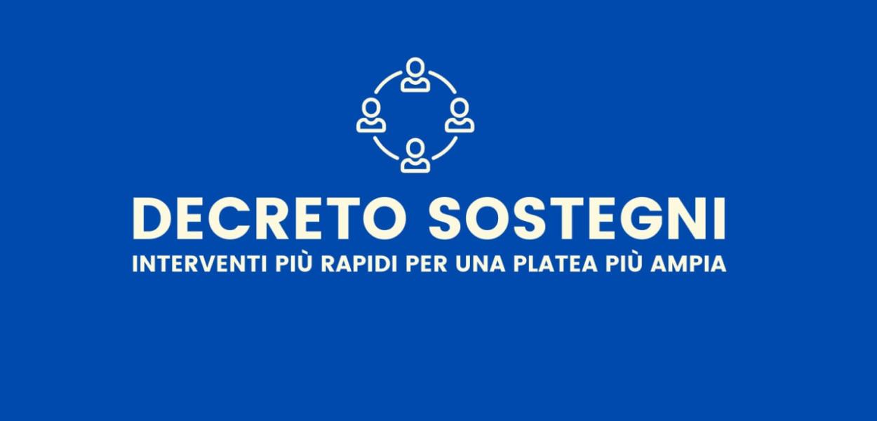 Dl Sostegni, 11 mld alle imprese